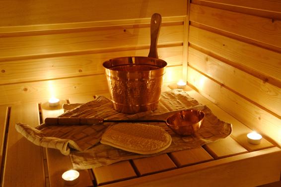 Lechner am See sauna