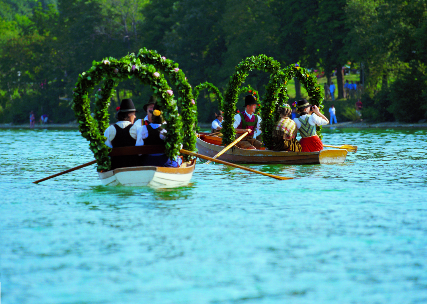 Lake Festival in Schliersee