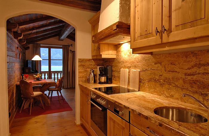 Lechner am See Suite Alm Küche