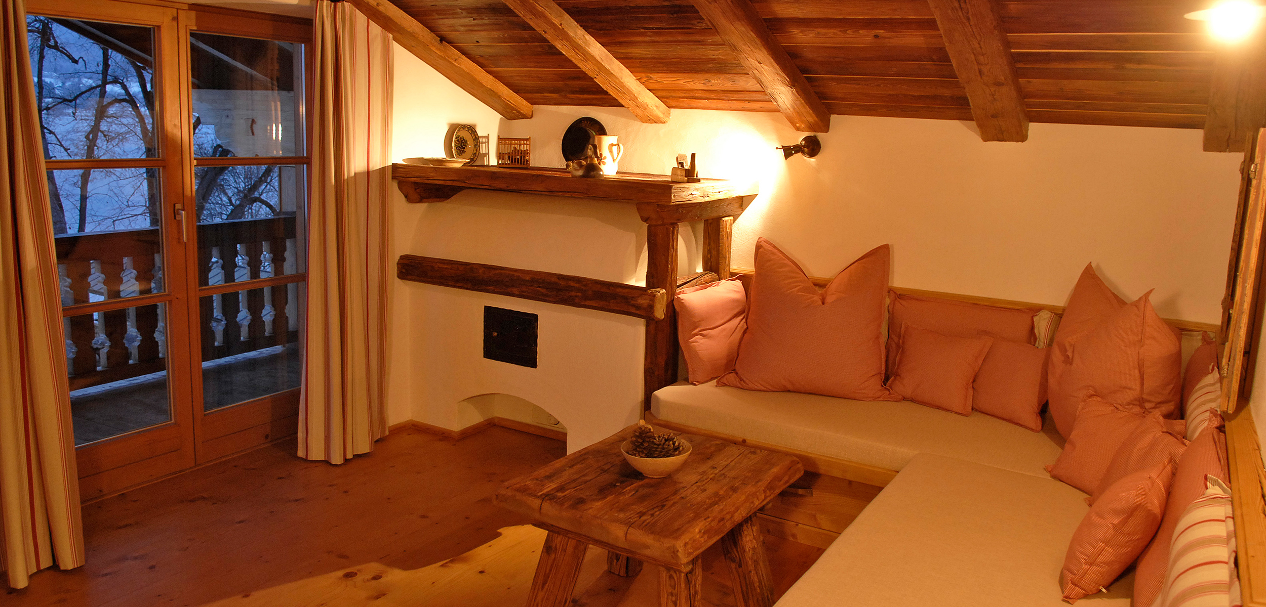 Lechner am See Suite Alm Wohnraum