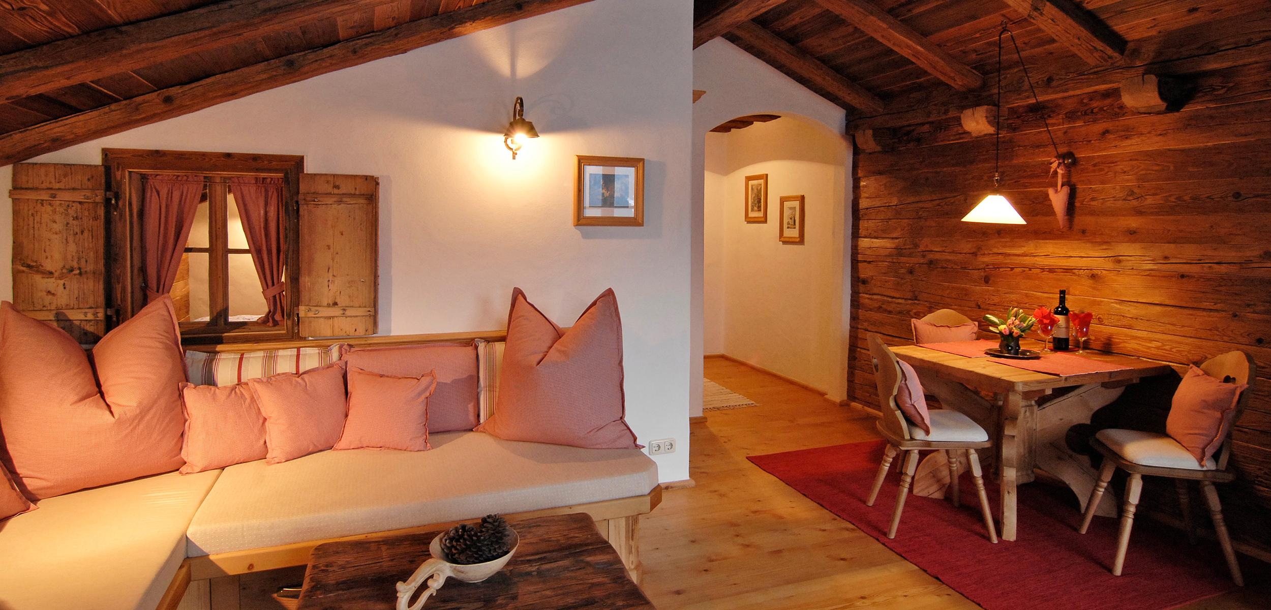 Lechner am See Suite Alm Wohnzimmer